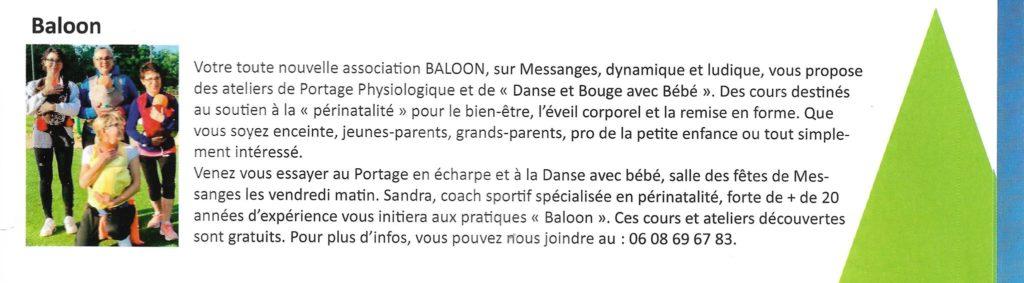 Baloon Sport Santé Bien-Être à Messanges
