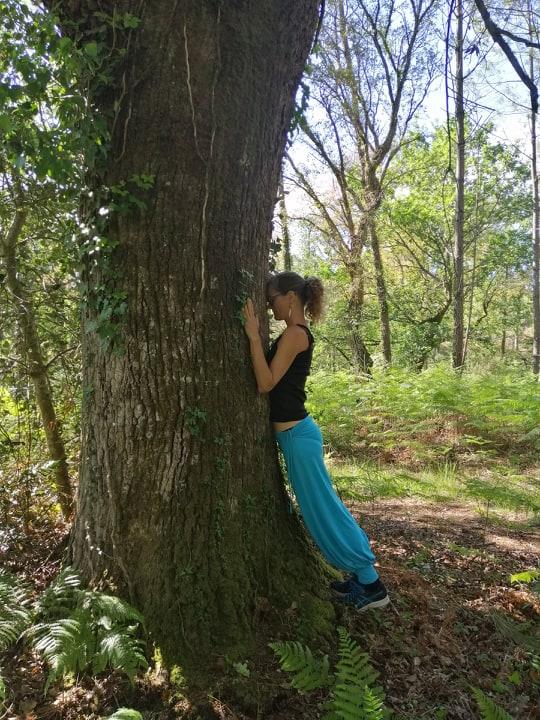 sylv yoga nature