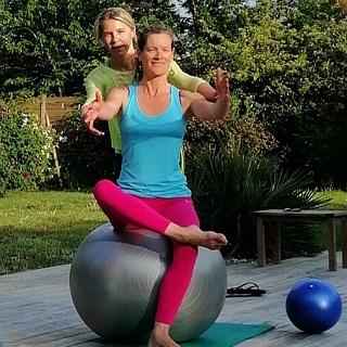 sport sante pilates baloon postural ball